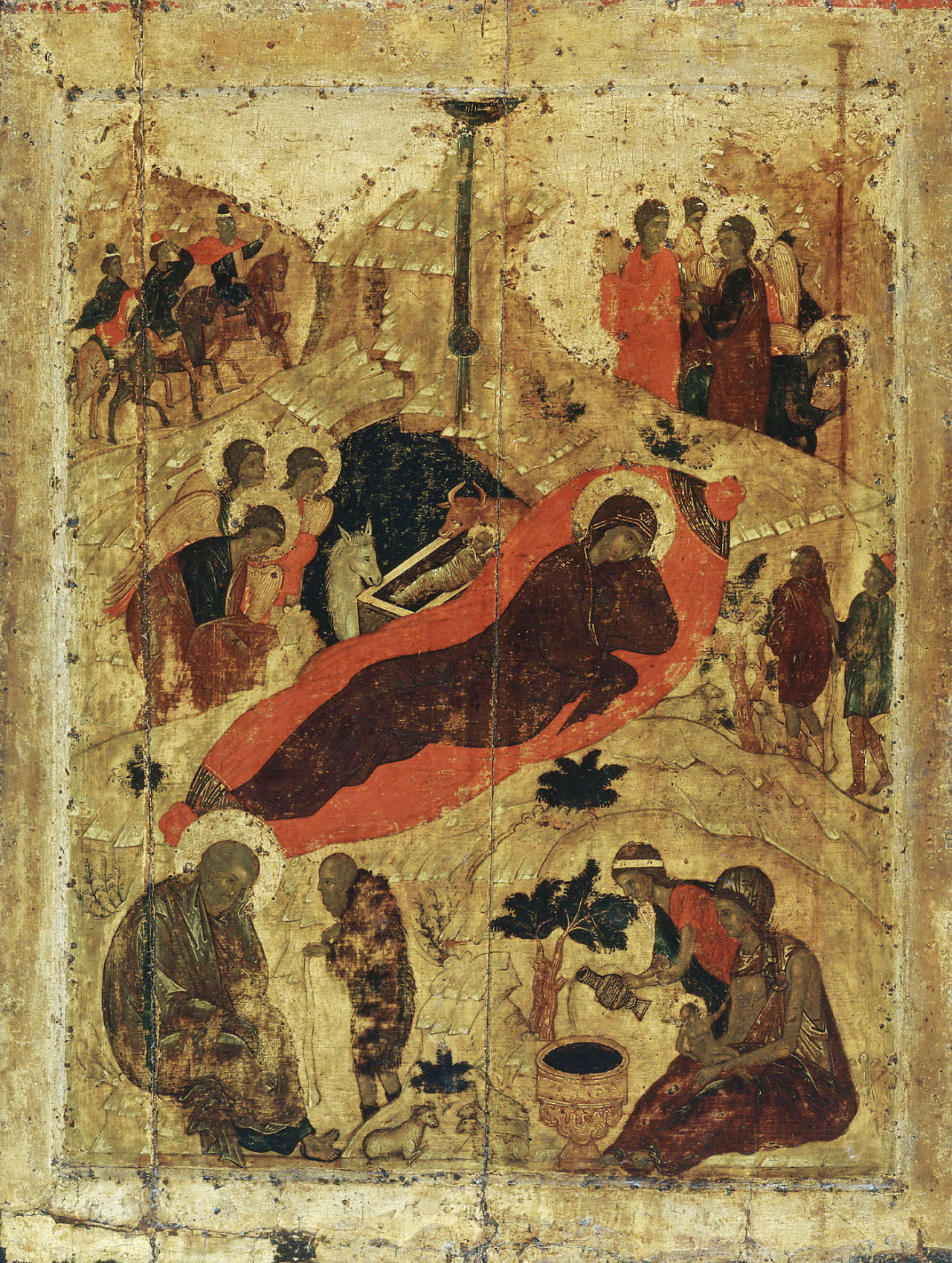 Rublev Nativityicon