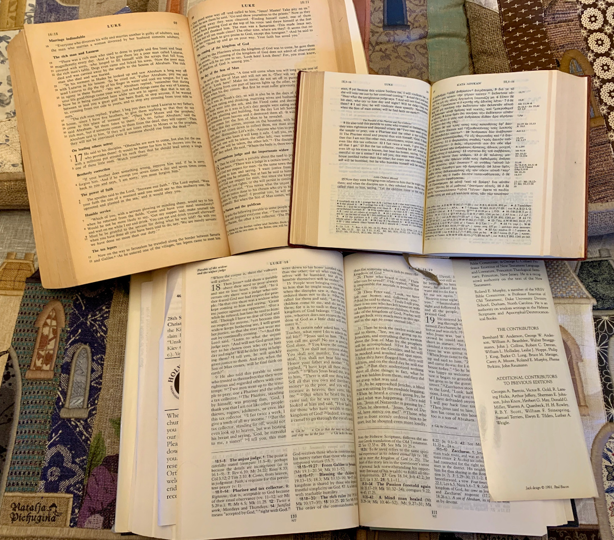 Bibles for Lectio